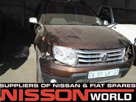 RENAULT DUSTER NOW STRIPPING FOR SPARES INT & EXT PARTS AVAILABLE