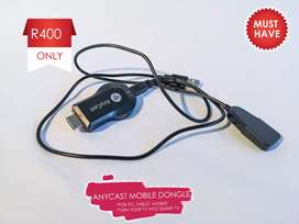 Anycast eireless connection device for Tablet, phones ans PCs