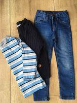 Spodnie, sweterek H&M i bluzeczka 98 - 104