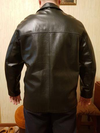 Кожаная куртка-трансформер р.L состояние новой Киев - изображение 2