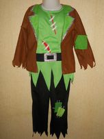 Костюм карнавальный хеллоуин hellowin пират зомби 4-5 лет р.104-110