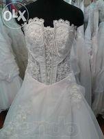 Свадебное платье-продам срочно! - Красивое, легкое,пышное б/у