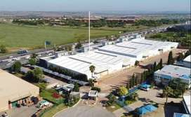 11180 SQM A-GRADE INDUSTRIAL WAREHOUSE IN MIDRAND FOR RENT