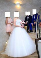 Piękna Suknia Ślubna rozmiar 38 z możliwośćią regulacji !