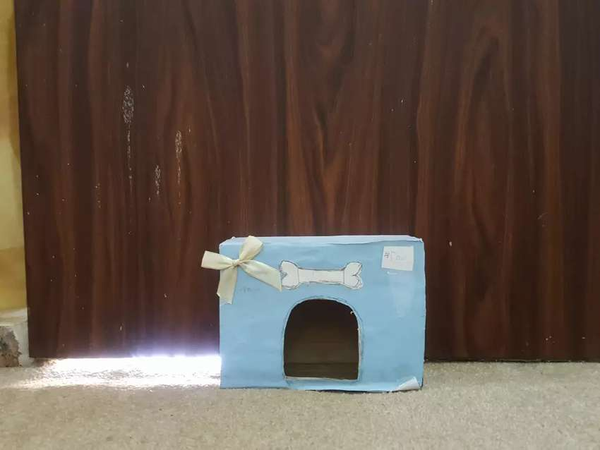 Paper puppy dog house 0