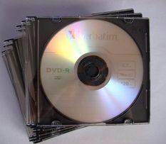 Диски Verbatim DVD-R 4,7GB 16x Slim Case