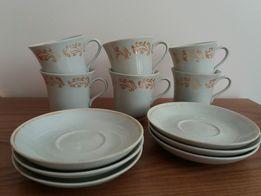 Кавовий набір посуд з позолотою
