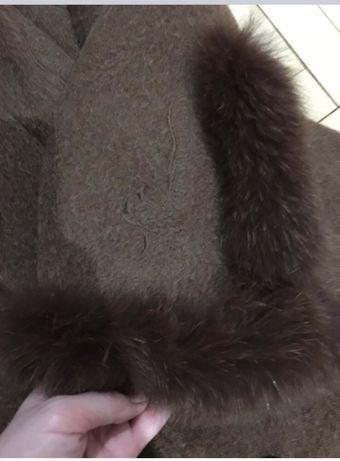 Зимнее шерстяное пальто S Киев - изображение 4