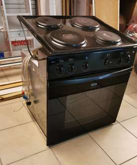 Defy oven and stove top