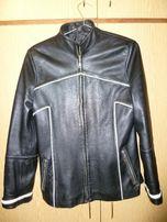 Куртка шкіряна жіноча, розмір 40-42.