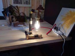 Настольная лампа в стиле лофт