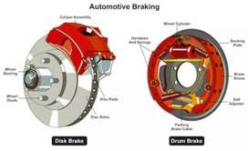 Brakes front and rear
