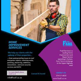 Fixall Services is a leading Home Improvement and Repair Service