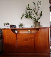 Komplet mebli do salonu - prawdziwe drewno - swarzędzkie meble