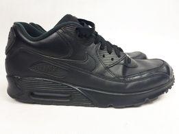 Buty NIKE Air Max 90 Leather 302519 Black/Black 44.5