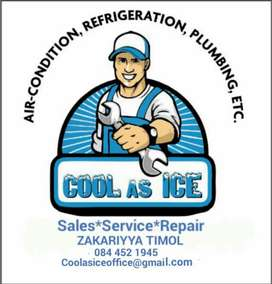 Cool As Ice Air-conditioning ,Refrigeration and Appliance Technicians