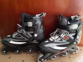 L.A. Sports roller blades package
