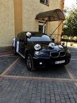 Прокат,оренда авто на весілля BMW x6 e71