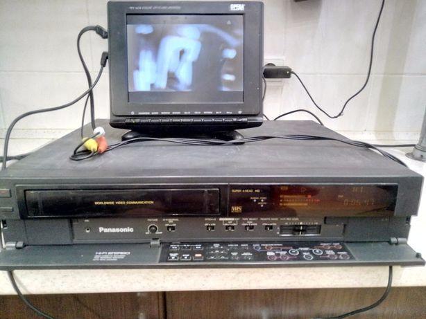 VHS-магнитофон Panasonic-NV-F55-HI-FI