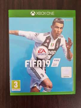 FIFA 19 CD & Cover for XBOX One S