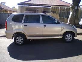 2007 Toyota Avanza, 103,000km, manual, spare key, 7 seater, engine 1.3