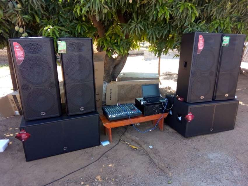 Sound system for hire in Mpumalanga 0