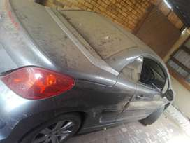 Peugeot 207cc engine and body spares