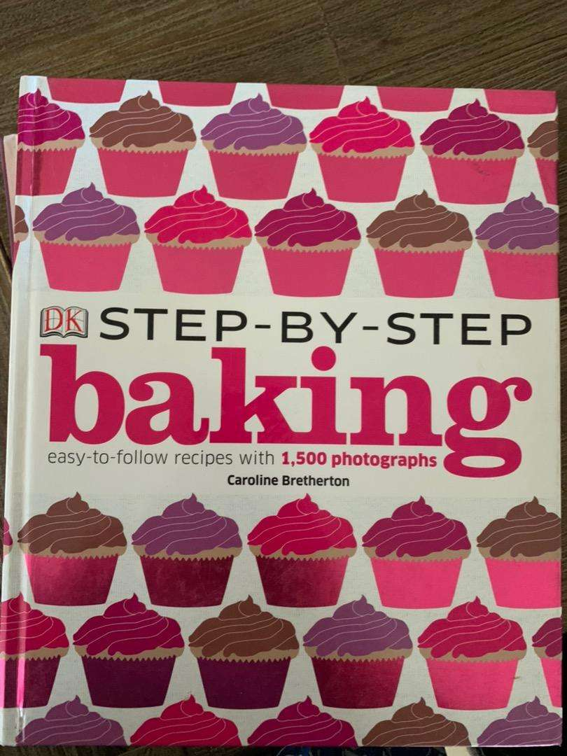 Step by Step Cooking, Baking and Ingredients books 0