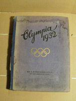 Olimpiada 1932 - niemiecki album-książka