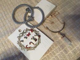Бижутерия Сережки Браслет Кулон H&M