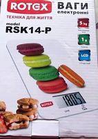 Весы кухонные Rotex RSK14-P новые