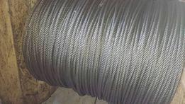 Продаю канат(трос) стальной крановый диаметр 6,2 мм(ГОСТ 2688-80)