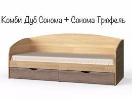 Детская Односпальная Кровать Комфорт