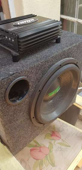 Subwoofer with monoblock
