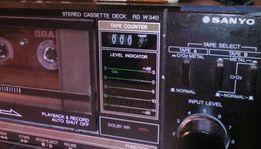 Продам двух-кассетную деку Sanyo