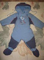 Комбинезон на мальчика на холодную осень\зиму до 1,5 лет