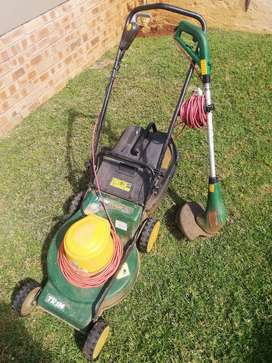 Trimtech Lawnmower and trimmer