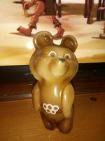 Фарфоровый Олимпийский Мишка