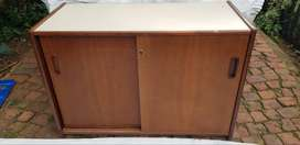 Office Credenza and desk