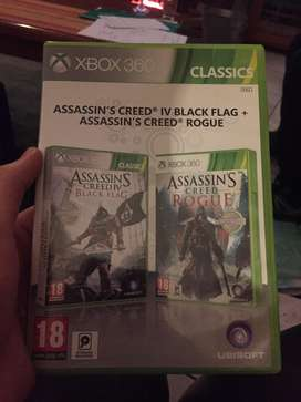 Two assasins creed Xbox 360 games