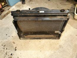 Радиаторы (интеркулер) с вентилятором в сборе BMW E60/61 вентилятор