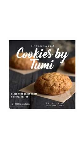 Affordable and fresh oven made cookies and biscuits