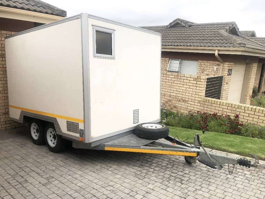 Insulated trailer Mobile Kitchen/ site office coldroom 0