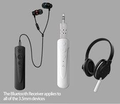 Bluetooth AUX приемник блютуз гарнитура наушники ГРОМКАЯ СВЯЗЬ ST-006