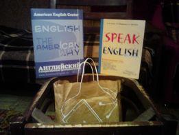 Комплект для изучения английского языка из 5 учебников+разговорные тем