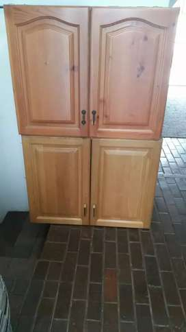 2 by 2 door cupboards.. priceless wood.large sizes available
