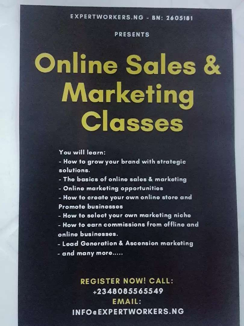 Online Sales and Marketing Course 0