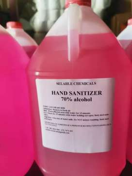 5L Hand sanitiser and face Shield