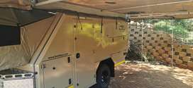 Bushlapa Ratel 6 sleeper Off Road Caravan