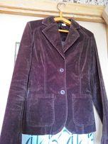 """П одростковый пиджак, жакет (ткань """"велюр"""", шоколадного цвета)"""
